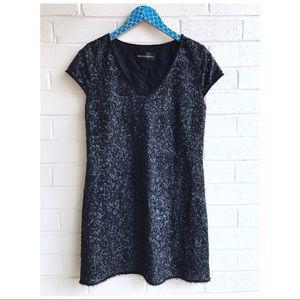 Zadig & Voltaire Deluxe Rita Black Sequin Dress